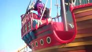 The Backyardigans Pirate Treasure Uniqua Statue at Pleasure Beach Blackpool