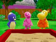 The Backyardigans Riding the Range 4 Uniqua Pablo Tasha Characters Cast