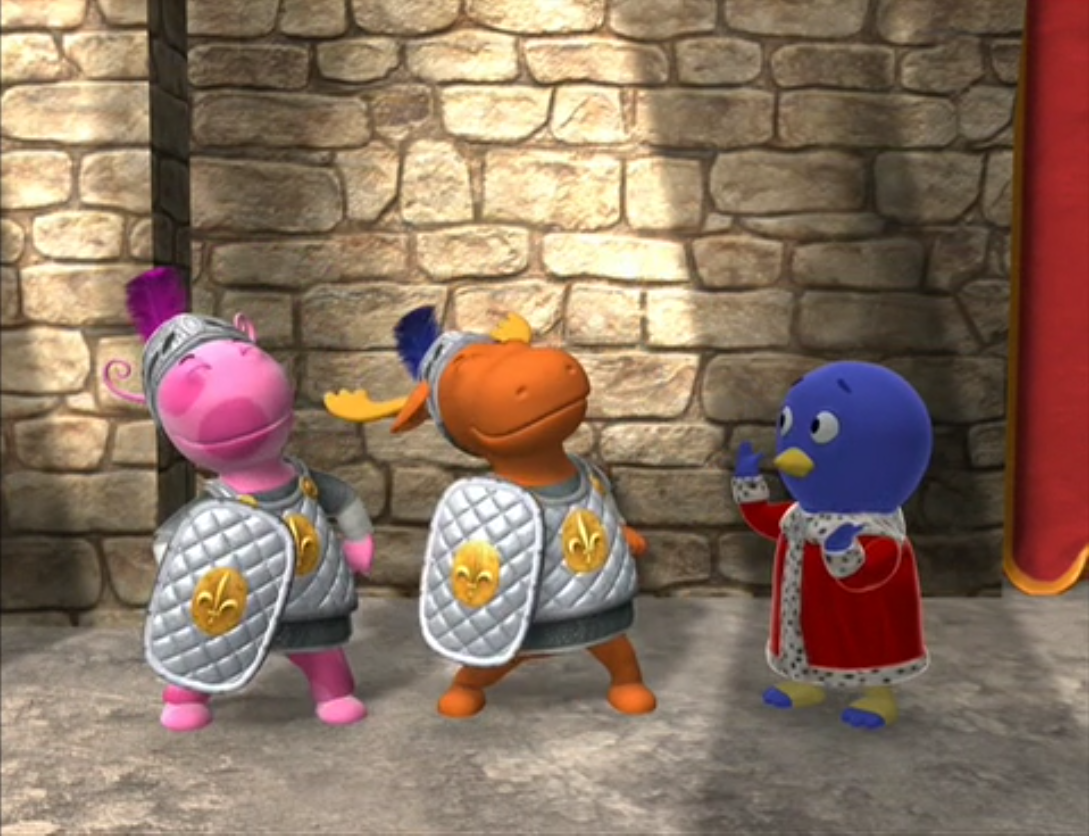 A Challenge The Backyardigans Wiki Fandom Powered By Wikia