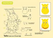 The Backyardigans Tasha Character Construction Guide