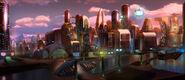 The Backyardigans Mega City Concept Art 2