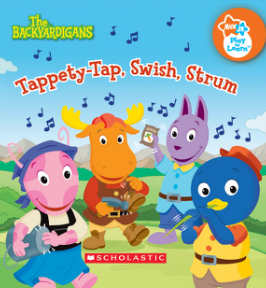 Image - Tappety Tap Swish Strum Backyardigans Nick Jr. Book Club.png ...