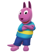 The Backyardigans Austin Cross-Armed Nickelodeon Nick Jr. Character Image