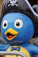 The Backyardigans Pirate Treasure Pablo Statue at Pleasure Beach Blackpool