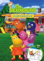 The Backyardigans Magic Painting Book