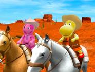 The Backyardigans Riding the Range 15 Uniqua Tasha