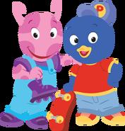 The Backyardigans Sport-Tacular Uniqua and Pablo