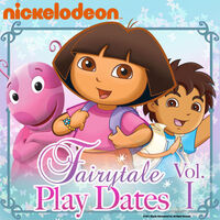 Nickelodeon Fairytale Play Dates Vol. 1 - iTunes Cover (United States)