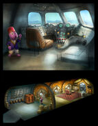 The Backyardigans Austin-Ji on Plane Concept Art