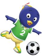 The Backyardigans Pablo Soccer Fútbol Nickelodeon Nick Jr. Character Image