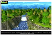 The Backyardigans Buttercup Mountain Waterfall Draft Render