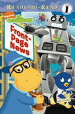 The Backyardigans Front-Page News Book