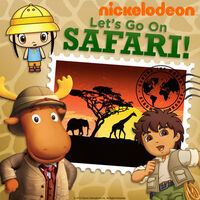 Nickelodeon Let's Go On Safari! - iTunes Cover (United States)