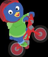 The Backyardigans Sport-Tacular Pablo on Bicycle