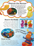 The Backyardigans Sherman the Worman in The Essential Guide