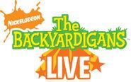 The Backyardigans Live Logo