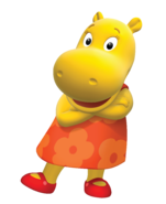 The Backyardigans Tasha Cross-Armed Nickelodeon Nick Jr. Character Image