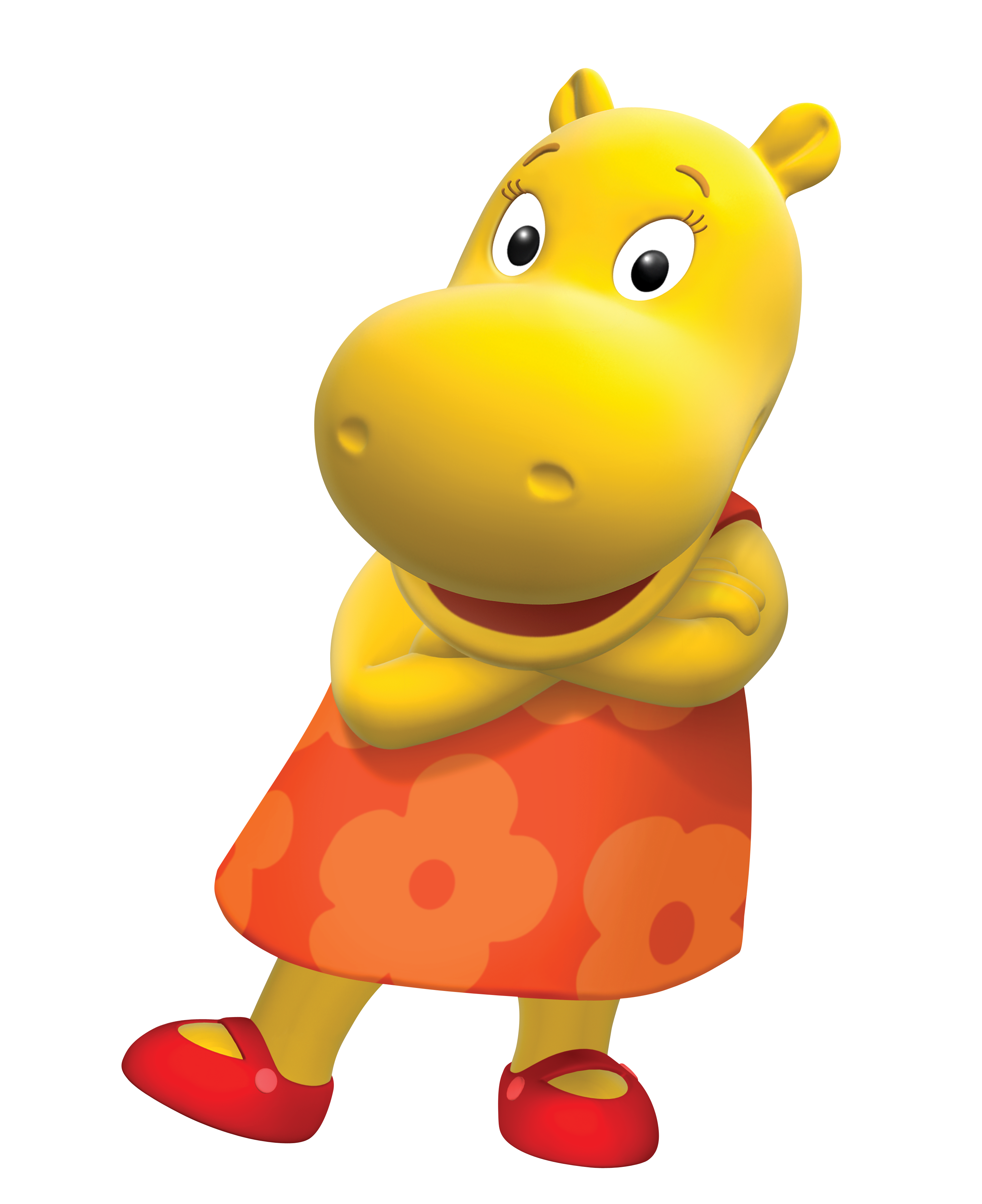 The Backyardigans Tasha Cross Armed Nickelodeon Nick Jr. Character Image