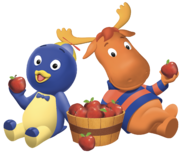 The Backyardigans Pablo and Tyrone Apples Nickelodeon Nick Jr. Characters Image