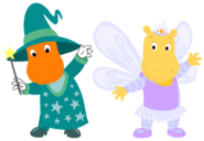 The Backyardigans - Wizard Tyrone and Fairy Tasha