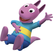 The Backyardigans Austin Laughing Nickelodeon Nick Jr. Character Image