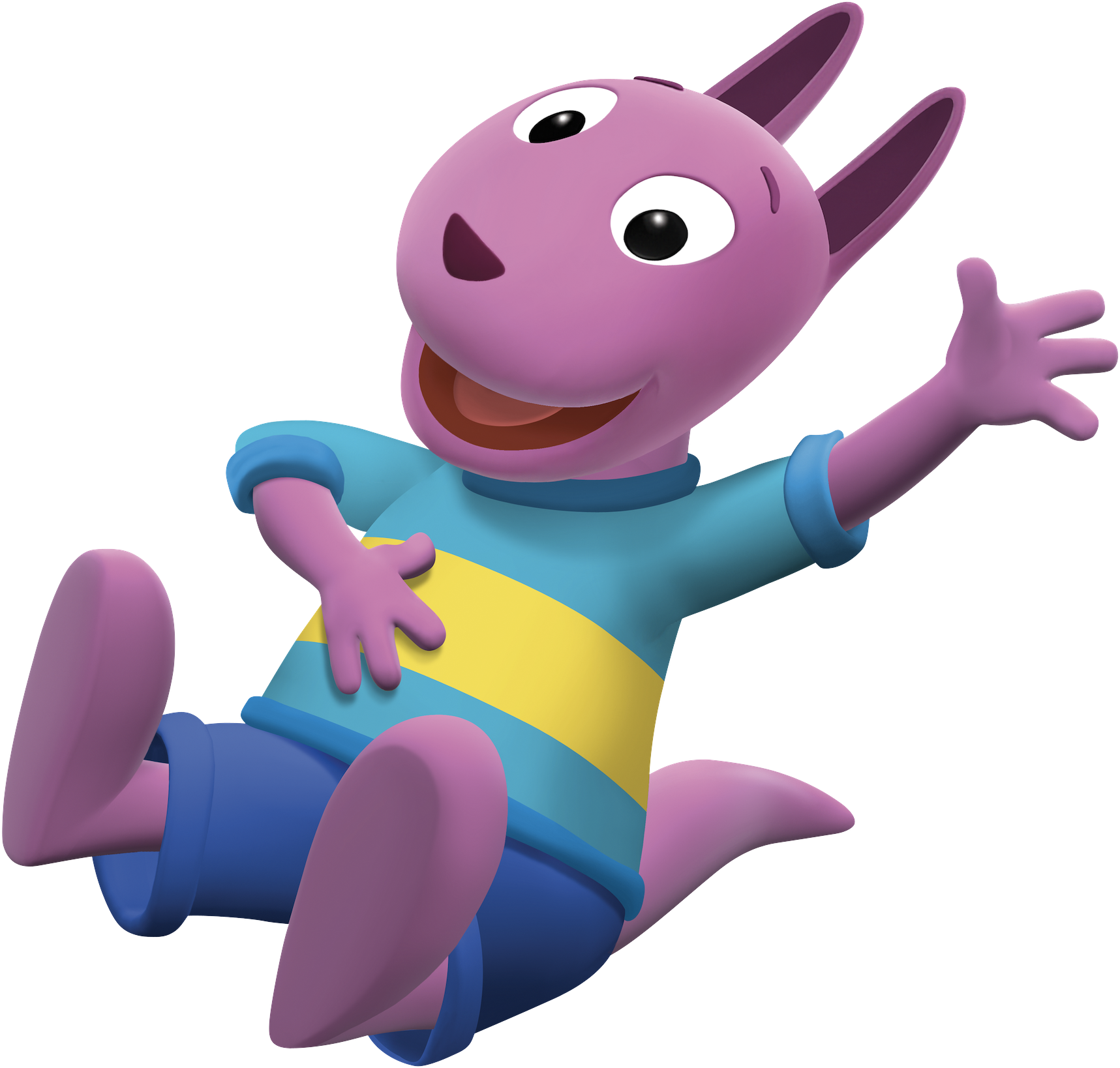 Beau The Backyardigans Austin Laughing Nickelodeon Nick Jr. Character Image.png