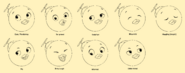 The Backyardigans Pablo 2D Facial Expressions