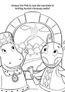 The Backyardigans Uniqua and Tasha in Knight Quest