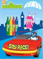 The Backyardigans Spy Race!