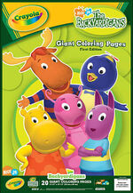 The Backyardigans Giant Coloring Pages