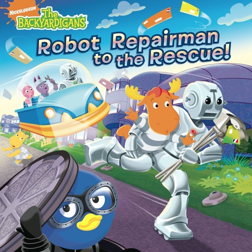 The Backyardigans Robot Repairman To The Rescue