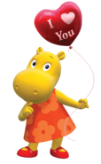 The Backyardigans Tasha Valentine's Day Nickelodeon Nick Jr. Character Image