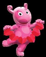 The Backyardigans Uniqua Valentine's Day Nickelodeon Nick Jr. Character Image