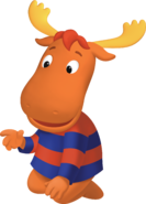 The Backyardigans Tyrone Sitting Nickelodeon Nick Jr. Character
