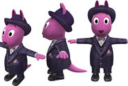 The Backyardigans Inspecteur Austin Model Sheet