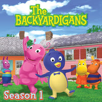 The Backyardigans Season 1 - iTunes Cover (Canada)