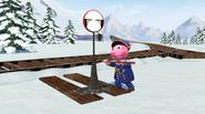 The Backyardigans Catch that Train! 28 Uniqua