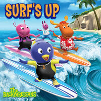 The Backyardigans Surf's Up - iTunes Cover (Canada)
