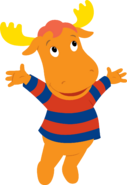 The Backyardigans Tyrone Jumping Nickelodeon Character Image