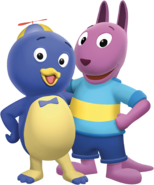 The Backyardigans Pablo and Austin Nickelodeon Nick Jr. Characters Image