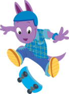 The Backyardigans Sport-Tacular Austin on Skateboard