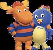The Backyardigans Tyrone and Pablo Nickelodeon Nick Jr. Character Image