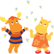 The Backyardigans Tasha Tyrone Fireflies