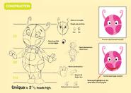 The Backyardigans Uniqua Character Construction Guide