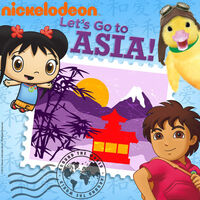 Nickelodeon Let's Go to Asia! - iTunes Cover (United States)