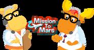 The Backyardigans Characters - Tyrone and Tasha Mission to Mars