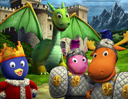 The Backyardigans Dragon Tale of the Mighty Knights Promo Poster 2