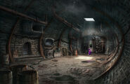 The Backyardigans Underground Lair Production Art