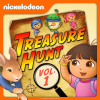 Nickelodeon Treasure Hunt Vol. 1 - iTunes Cover (United States)