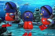The Backyardigans Pablo as Rescue Three Model Sheet